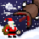 Super Mega Worm Vs Santa Saga App Icon