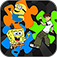Puzzles Combo App for Minion Rush, Ben 10, Beyblade (unofficial) app icon