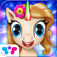 Pony Care Rainbow Resort: Enchanted Spa Fashion Designer & Makeover Magic app icon