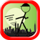 Stickman Skateboard Hill Ride Pro iOS Icon