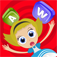 Alice in wordland for kids: The educational word game with color matching iOS Icon