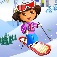 Ski Game for Dora the explorer iOS Icon