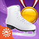 Gold Medal Figure Skating Game – Play Free Ice Skate Dance Girl Winter Sports Games app icon