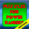 Puzzles games for Power Rangers app icon