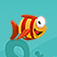 Flappy Mega Fish: Frozen Baby Bird Fish Adventure app icon