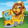 Animal Car Games for Kids Free iOS Icon