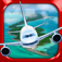 3D Plane Flying Parking Simulator Game iOS Icon