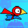 Red Bouncing Bird Man app icon