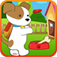 Cute Puppy Dog Seesaw Jumping XD app icon
