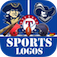Sports Logos Quiz (Cool new puzzle trivia word game with awesome images of the popular American University College & Club Sports baseball baske app icon