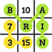 Brain Games : Words & Numbers for Brain Training iOS Icon