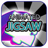 Animated Jigsaw Arty Elements iOS Icon