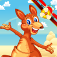 Kangaroo Airplane Trek app icon