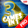 Action 3-in-1 Mini Games HD 2! Pro app icon