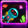 Gem Rocket Robot iOS Icon