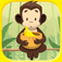 A Monkey Lunch: Raining Bananas! Deluxe Version app icon
