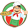 A Pop's Pizzeria Shop iOS Icon