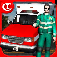 Crazy Ambulance King 3D Plus iOS Icon