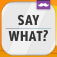 Say What?! app icon