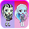 Ghouls Beauty Fashion Shopping Jump: Monster High Edition iOS Icon