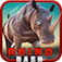 Rhino Dash ( Rampage Simulator Game ) app icon