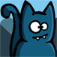 Bronko Blue, the kitten copter app icon
