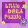 Little Dora Puzzle App Icon