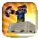 MineCart - 3D Mine Cart Game for MineCraft iOS Icon