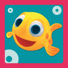 Play and learn with MiniMini fish app icon