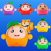 Fruit Bump-Children's bump game iOS Icon