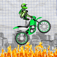 A Swing Cartoon Motocross Hero iOS Icon