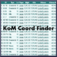 Kom Coord Finder iOS Icon