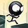 Stickman Roof Runner app icon