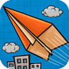 Paper Plane -- Aircraft flight Arcade iOS Icon