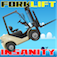 Forklift Insanity PRO-Forklift stunt driver jump game iOS Icon