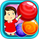 Candy Drops Matching Mania: Sugar Sweet Shop Puzzle iOS Icon