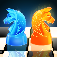 Ice And Flame Chess 3D PRO app icon