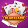 21 Black-Jack Casino Poker Cards Free iOS Icon