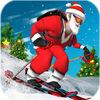 Offroad Santa Skiing