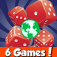 Dice World! 6 Games! app icon