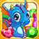 3 Candy: Gems and Dragons iOS Icon