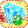 3D Candy Gem Blitz iOS Icon
