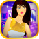 White and Gold Girl Dressup app icon