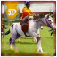 Horse Racing 3D Simulator iOS Icon