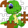 Dino Jigsaw Pieces Puzzle- A Hunter Style Puzzles iOS Icon