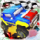 Downtown Monster Car Stunt Rally app icon