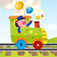 A Find the Shadow Game for Children: Learn and Play with Animals Boarding a Train app icon