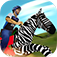 Zebra Rider iOS Icon