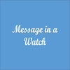 Message in a Watch iOS Icon