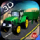 Tractor Simulator Sand Transporter 3D iOS Icon